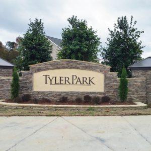 Tyler Park Entrance